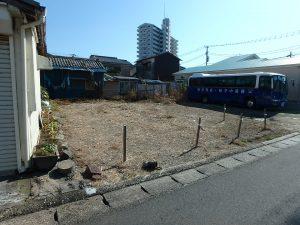 千葉県鴨川市前原の不動産、土地、前原海岸近く、別荘、移住用途、40坪弱の整形地