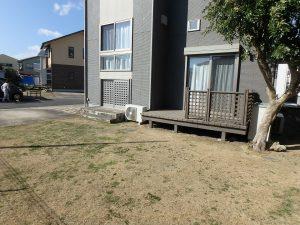 千葉県館山市湊の不動産、中古住宅、戸建て、移住、続いて外回りです