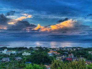 千葉県館山市加賀名の不動産、海が見える別荘、ポピーランド、海一望、日々景色が変わります