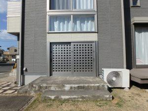 千葉県館山市湊の不動産、中古住宅、戸建て、移住、外から見た蔵の開口部