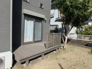 千葉県館山市湊の不動産、中古住宅、戸建て、移住、デッキもあります