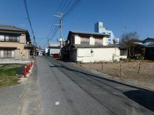 千葉県鴨川市前原の不動産、土地、前原海岸近く、別荘、移住用途、接道は一方通行