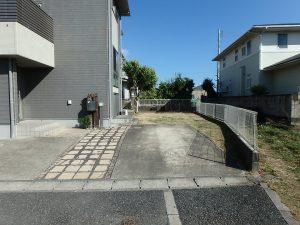 千葉県館山市湊の不動産、中古住宅、戸建て、移住、駐車場と適度なお庭