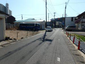 千葉県鴨川市前原の不動産、土地、前原海岸近く、別荘、移住用途、道路幅員は十分です