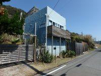 千葉県南房総市和田町白渚の不動産、海一望、海が見える別荘、リゾート感漂う素敵な外観