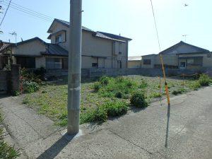 千葉県安房郡鋸南町保田の土地、海望む、海に近い住宅地、穏やかな内房の海へ20m