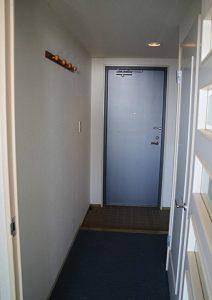 千葉県南房総市白浜町滝口のマンション、アレーヌ白浜、別荘、海一望、今度は室内に入りました
