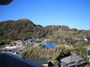 千葉県南房総市白浜町滝口のマンション、アレーヌ白浜、別荘、海一望、山の景色もありますよ