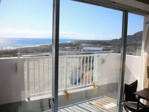 千葉県南房総市白浜町滝口のマンション、アレーヌ白浜、別荘、海一望、眺望は言うことありません