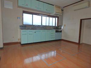 千葉県館山市八幡の不動産、戸建て、移住、中央部にDKです
