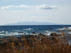 千葉県館山市西川名の不動産、海が見える土地、広い土地、風光明媚で美しい海の景色