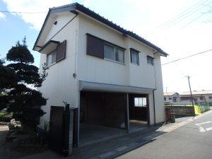 千葉県館山市八幡の不動産、戸建て、移住、離れはガレージ倉庫と居室