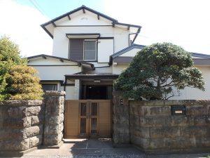 千葉県館山市八幡の不動産、戸建て、移住、まずはメインの建物から