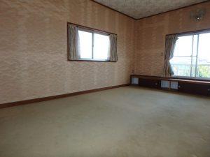 千葉県館山市八幡の不動産、戸建て、移住、2階に和洋二間あります