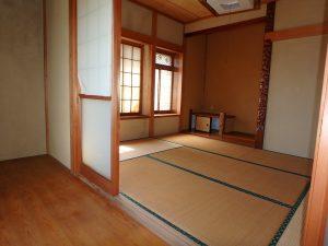 千葉県館山市八幡の不動産、戸建て、移住、ここも広縁付きですね