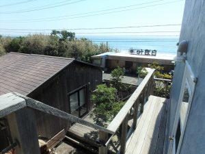 千葉県南房総市和田町白渚の不動産、海一望、海が見える別荘、下りる時の景色もイイ