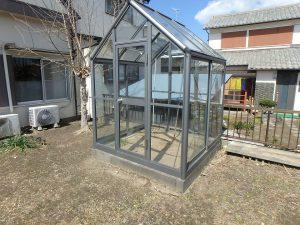 千葉県館山市八幡の不動産、戸建て、移住、ミニ温室がある