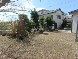 千葉県館山市八幡の不動産、戸建て、移住、庭での楽しみあります
