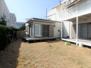 千葉県鴨川市横渚の不動産、前原海岸すぐ前、海一望別荘、高級別荘、バーベキューできますね