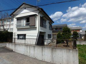 千葉県館山市八幡の不動産、戸建て、移住、南側からの全景