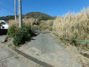 千葉県館山市西川名の不動産、海が見える土地、広い土地、ここからが対象地