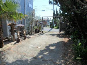 千葉県南房総市和田町白渚の不動産、海一望、海が見える別荘、と言うことで敷地を後に