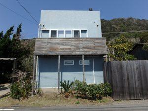 千葉県南房総市和田町白渚の不動産、海一望、海が見える別荘、メインの屋上付建物