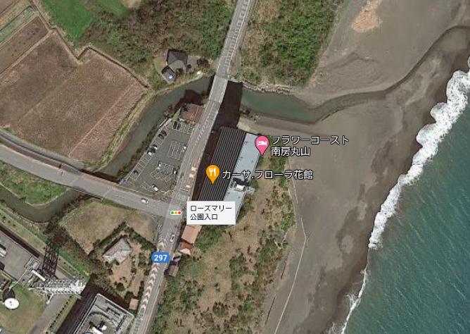 千葉県南房総市白子のリゾートマンション、フラワーコースト南房丸山の敷地