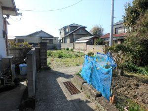 千葉県安房郡鋸南町保田の土地、海望む、海に近い住宅地、駅方面の道はかなり狭い