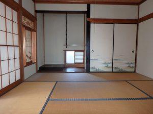 千葉県館山市八幡の不動産、戸建て、移住、床の間に平書院