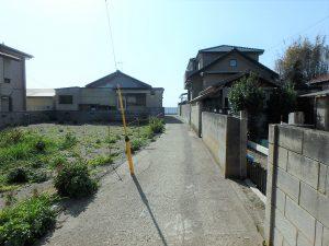 千葉県安房郡鋸南町保田の土地、海望む、海に近い住宅地、海の方に行ってみましょう