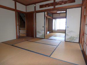 千葉県館山市八幡の不動産、戸建て、移住、広さは6帖の二間