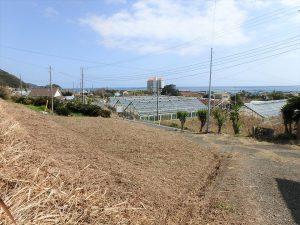 千葉県南房総市和田町花園の土地、売地、海一望、海が見える、パノラマ状の青海原