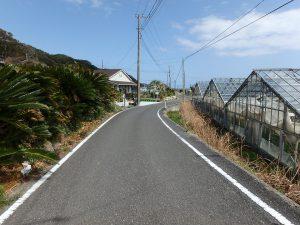 千葉県南房総市和田町花園の土地、売地、海一望、海が見える、公道も十分な幅員です