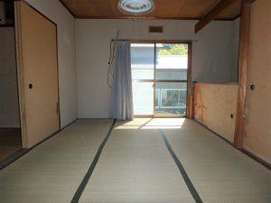 千葉県南房総市千倉町千田の不動産、田舎暮らし、海望む、戸建て、西側は2和室