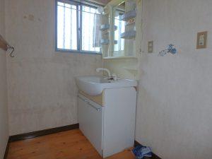 千葉県南房総市千倉町千田の不動産、田舎暮らし、海望む、戸建て、続いて1階洗面水回りです