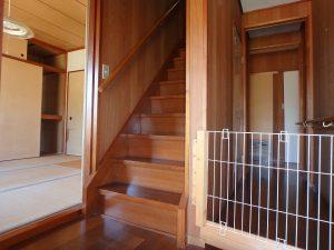 千葉県南房総市千倉町千田の不動産、田舎暮らし、海望む、戸建て、今度は2階に上がります
