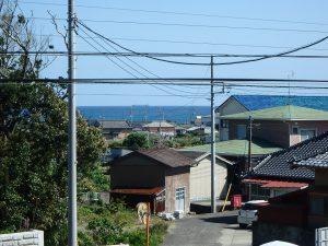 千葉県南房総市千倉町千田の不動産、田舎暮らし、海望む、戸建て、海だって少しは見える