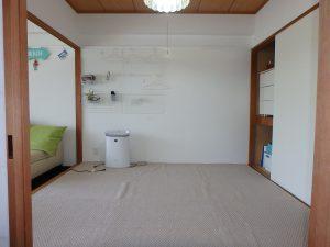 千葉県館山市洲崎ロイヤルマンション、海一望別荘、キッチン前は和室です