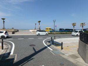 千葉県館山市北条の不動産、土地、北条海岸近く、少し歩くと海が見えてくる
