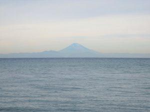 千葉県館山市北条の不動産、土地、北条海岸近く、この景色まで歩いて2分