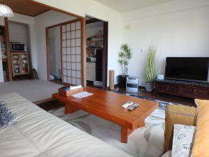 千葉県館山市洲崎ロイヤルマンション、海一望別荘、使いやすそうな間取りです