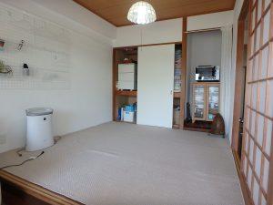 千葉県館山市洲崎ロイヤルマンション、海一望別荘、和室は4帖半タイプ