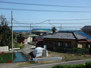 千葉県南房総市千倉町千田の不動産、田舎暮らし、海望む、戸建て、微かな海のおまけ付