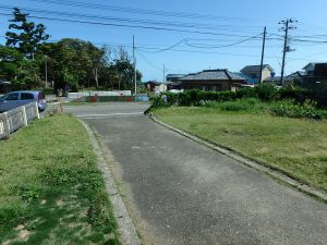 千葉県南房総市千倉町千田の不動産、田舎暮らし、海望む、戸建て、最後に外回り
