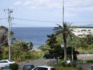 千葉県館山市洲崎ロイヤルマンション、海一望別荘、リゾートを感じる景色