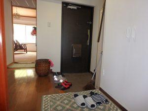千葉県館山市洲崎ロイヤルマンション、海一望別荘、その奥の和室です
