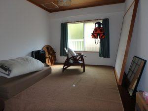 千葉県館山市洲崎ロイヤルマンション、海一望別荘、6帖タイプになります