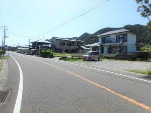千葉県南房総市千倉町千田の不動産、田舎暮らし、海望む、戸建て、接道は国道です