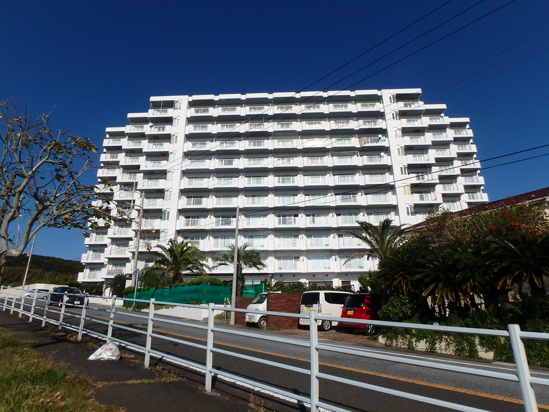 千葉県南房総市白浜町滝口のマンション、アレーヌ白浜、海望む、大幅値下げ